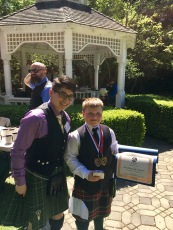 The Howard Award: Youngest Competitor - Malachi Johannsen