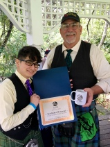 Bob Baker Memorial: Grade 4 Piping, Senior Division – Craig Farley