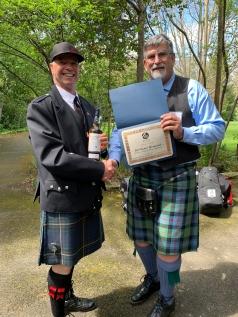 Bob Baker Memorial: Grade 4 Piping, Senior Division – Dale Wilson